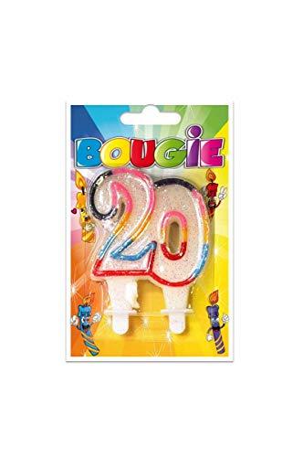 Parafete Candela Compleanno 20 Anni