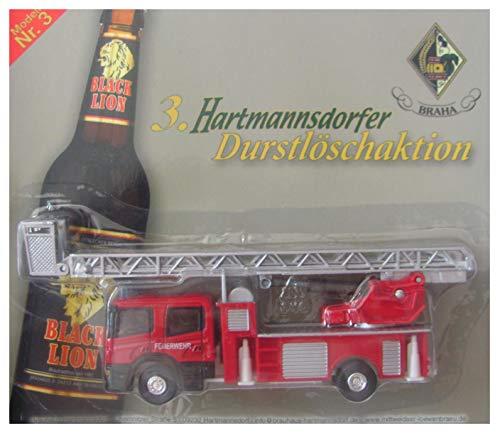 Hartmannsdorfer Brauerei Nr.27 - Man - Feuerwehr Leiterwagen mit Rettungskorb