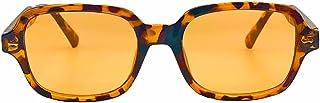 Orange Lens Sunglasses Tortoise Frame, Trendy Retro...