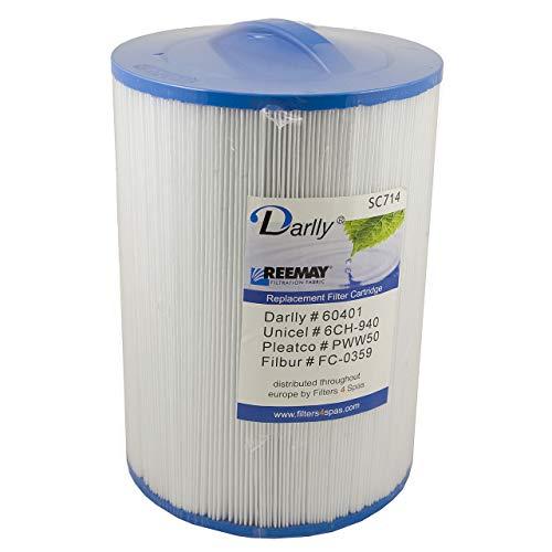 Darlly® Filter Ersatzfilter SC714 Lamellenfilter Aegean Bullfrog Clearwater Spa