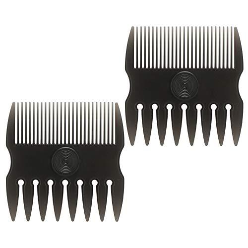 2pcs peines de barba, Segbeauty hombres cepillos para el cabello peluquero estilista conformación y burlas bigote mojado patillas de cuidado de peine herramientas portátiles