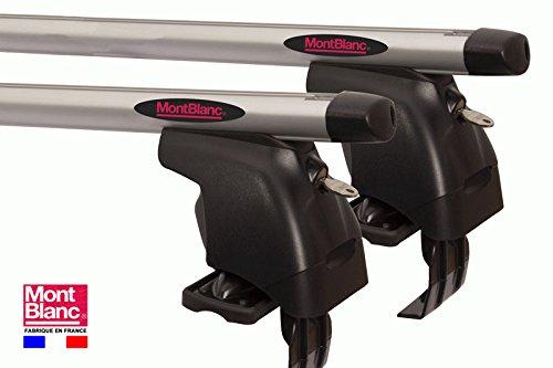 Barras de techo aluminio para PEUGEOT 206% 2F 206-3 puertas desde 1998