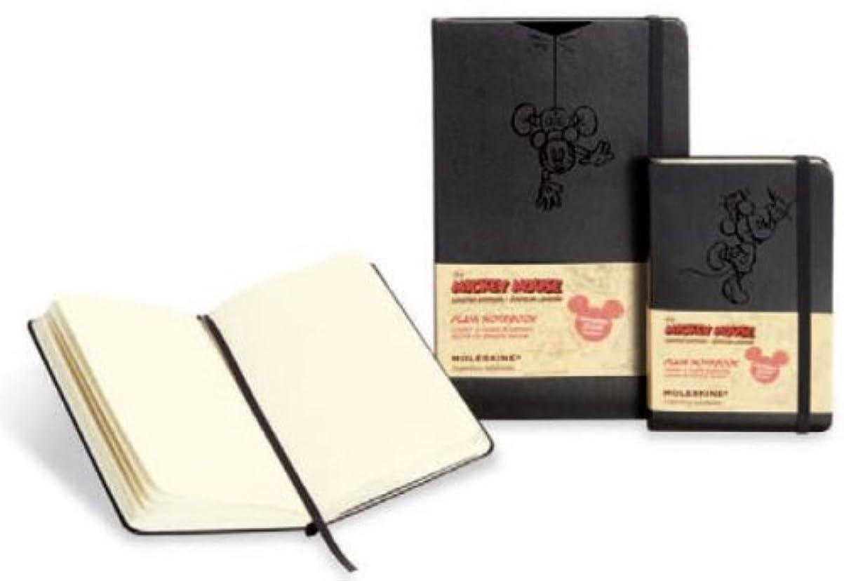 驚くべき写真凍るMOLESKINE モレスキン ディズニー プレーンノートブック(無地) ポケット LEDIQP012