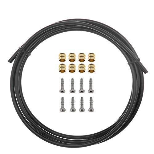 Juego de reparación para frenos de disco hidráulicos mangueras de 2,5 m de manguera compatible con freno de bicicleta MTB BH90