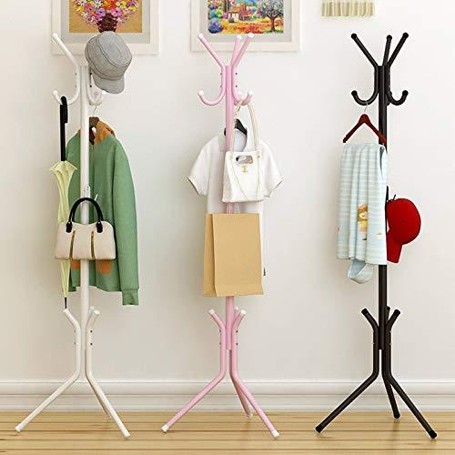 Leshared Opbergrek, lak in spuitbus, ijzeren buis, kan worden verwijderd, eenvoudige slaapkamermeubels en kledinghaken