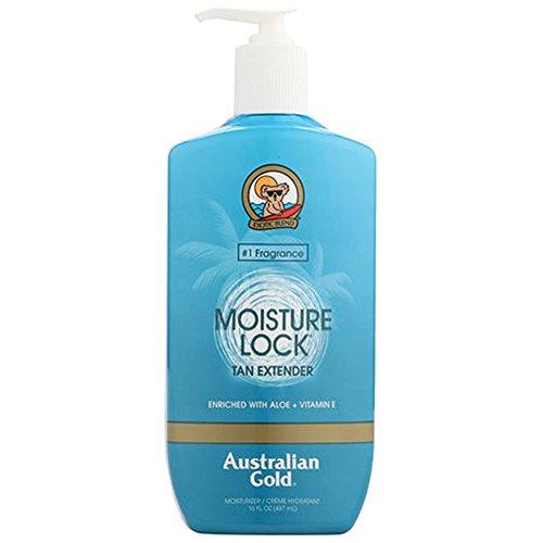 Australian Gold Moist Lock Tan Extender 16 Ounce Pump (473ml) (2 Pack)