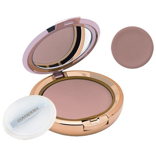 CoverDerm Compact Powder Oily Skin O4, .35 Ounce by CoverDerm