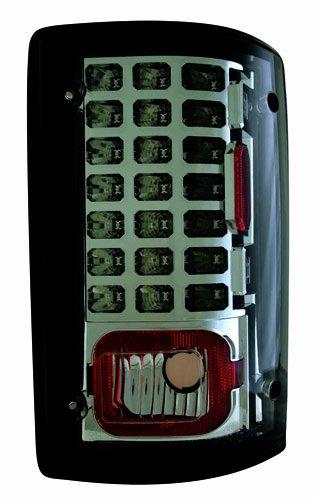 IPCW LEDT-502CS Platinum Smoke LED Tail Lamp - Pair