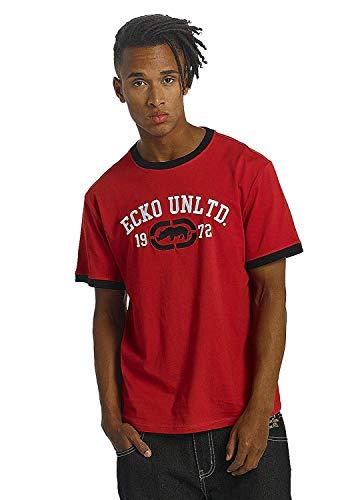 Ecko Unltd T-Shirt Uomo First Avenue T-Shirt Rossa Rosso - Rosso, Small