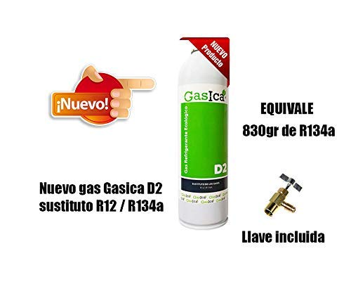 ALL4SALE - GAS ECOLOGICO GASICA D2 312gr SUSTITUTO R12 /