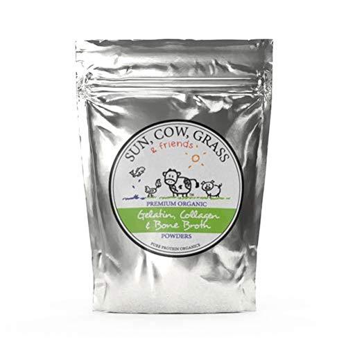Chicken Bone Broth Powder Organic Free Range 100g Pure Protein Non-Gelling Type