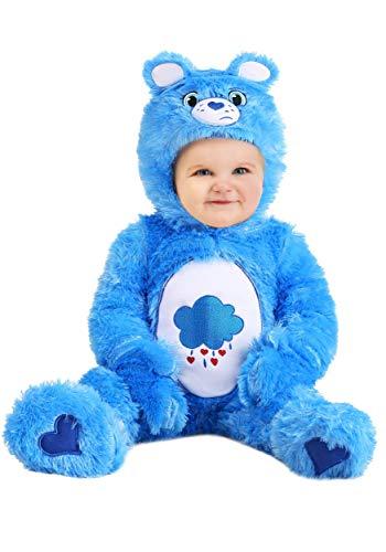 Care Bears Infant Grumpy Bear Costume Onesie 6/9 Months Blue