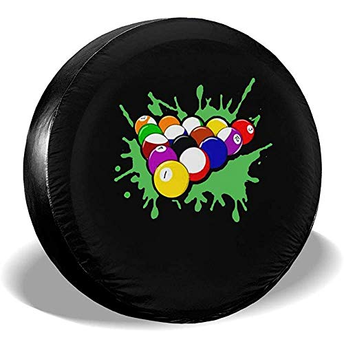 Rack of Pool Balls Billar Cubierta de llanta