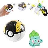 omzgxgod pokemon throw 'n pop poké ball, personaggi assortiti,pokemon pikachu pokeball master ball cosplay super ball poke pokeball