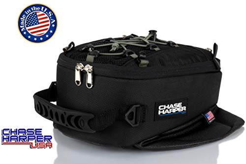Chase Harper USA 450M Magnetic Tank Bag, Water-Resistant, Tear-Resistant, Industrial Grade Ballistic Nylon with Anti-Scratch Rubberized Polymer Bottom, Super Strong Neodymium Magnets