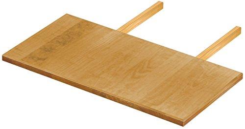 Brasilmöbel Ansteckplatten Set 50x100 Honig Rio Classiko oder Rio Kanto Pinie Massivholz Echtholz Größe & Farbe wählbar für Esstisch 2x Tischverlängerung Tisch Erweiterung ausziehbar