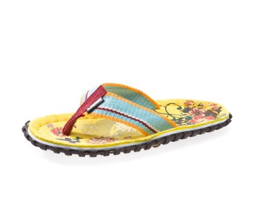 Beachers - Yellow Flowers - Zehentrenner / Sandale - gelb (36)