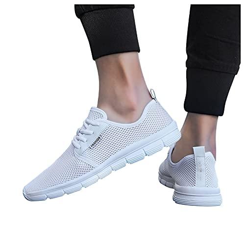 koperras Turnschuhe Damen Herren Mesh Sneaker Walkingschuhe Running Shoes Große Größe Fitness Sports Outdoor Tennis Shoes Leicht Freizeit Atmungsaktiv Straßenlaufschuhe Sportschuhe Laufschuhe