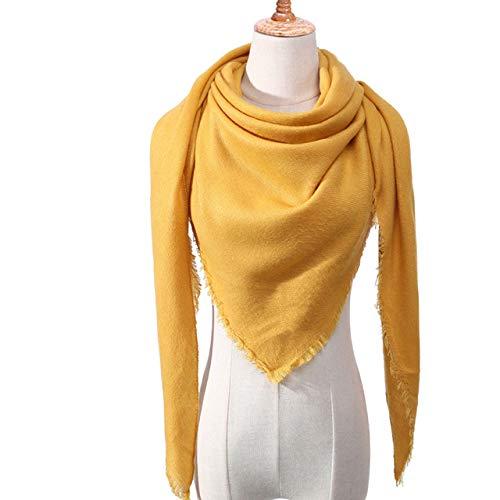 WNFDH sjaal designer 2019 gebreide lente winter vrouwen sjaal plaid warme sjaals