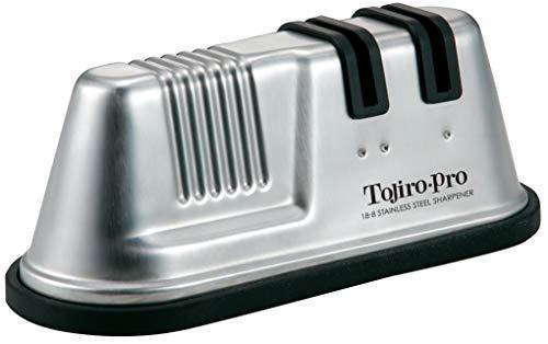 Tojiro Aiguiseur pour Couteau de Cuisine - Double Roulement Pierre à Aiguiser en Céramique Grain 320 / 1000