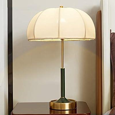 Lámparas perfectas para la decoración de sus habitaciones: esta lámpara de mesa es ideal para la mesita de noche, el dormitorio, la habitación de invitados, la sala de estar, la oficina, la mesa de café, el dormitorio universitario, en cualquier luga...