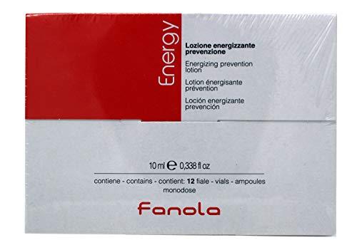 Fanola Energy Lotion gegen Haarausfall Anti-Hairloss 12 Ampullen mit je 10ml, 120 ml