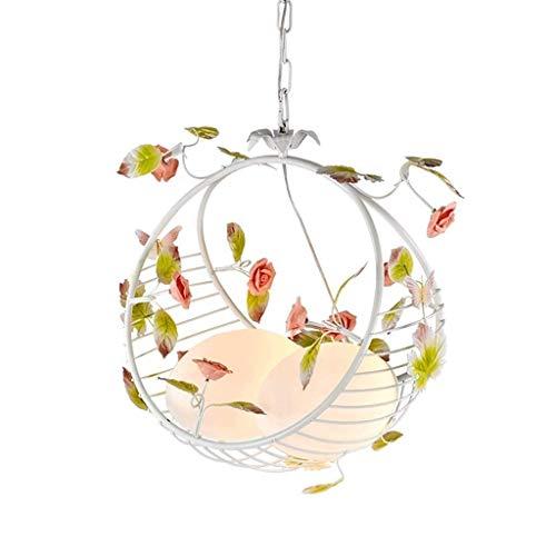 HDDD Decoratieve plafondlamp met bloemenhanger, kandelaar van glas, creatieve Europese verlichting, romantische kandelaar