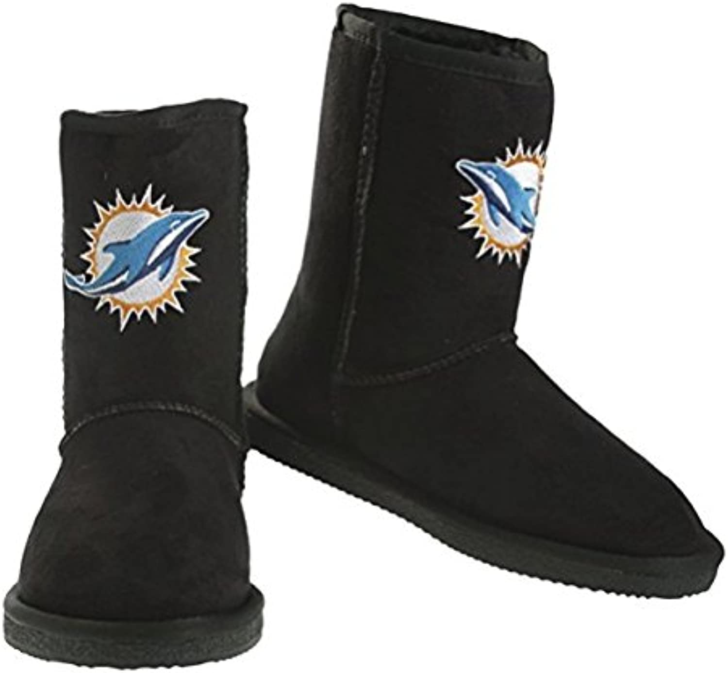 Miami Dolphins NFL The Ultimate Fan Women's Boot, Black