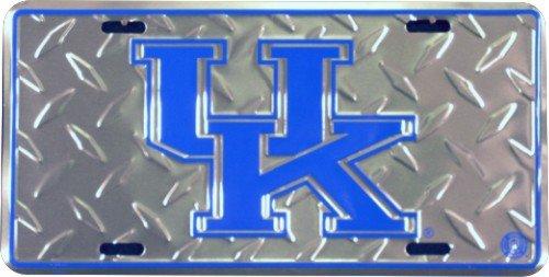 Hangtime Kentucky Wildcat Diamond Embossed License Plate