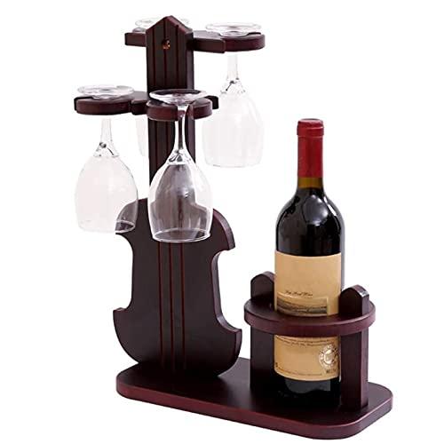 BAIHUO Estantería de Vino Diseño Creativo Soportes de Vino Estante de Vino Estante de Vino Nordic Creative Wood Solid Wine Rack Wine Rack Bar Soporte Montado En La Pared Accesorios de Vino