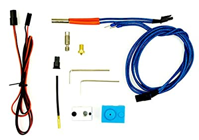 Repair or Upgrade kit for Prusa i3 and 1.75mm v6 compatible all metal Hot Ends 12V