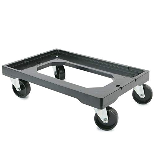 PrimeMatik Plataforma con ruedas para transporte de cajas...