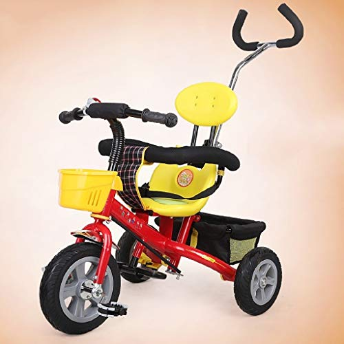 Purchase Children's Tricycle 2 in 1 Kids Tricycle for 2 Years Old and Up Boys Girls Kids Trike Toddl...