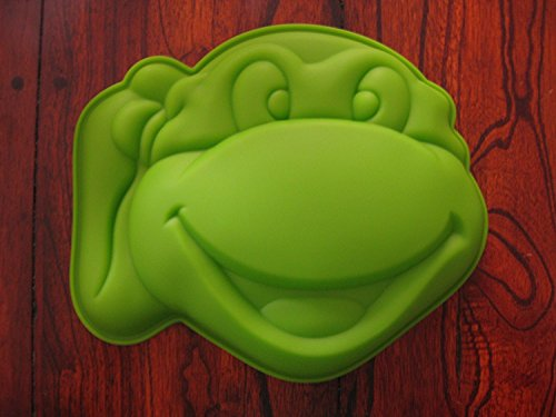 Teenage Mutant Ninja Turtles Silicone Cake Mold Chocolate Mini Cake Pan