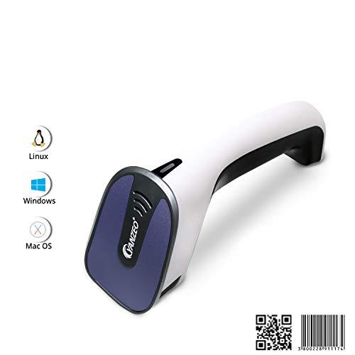 Yanzeo E3 2D Barcodescanner Tragbarer USB Kabel QR Code PDF417 Data Matrix-Codeleser für den Telefonbildschirm Windows/Mac Kassensystem Quadratische Scans