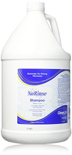 The Wright Stuff No Rinse Shampoo Gallon Bottle, 128 Fluid Ounce