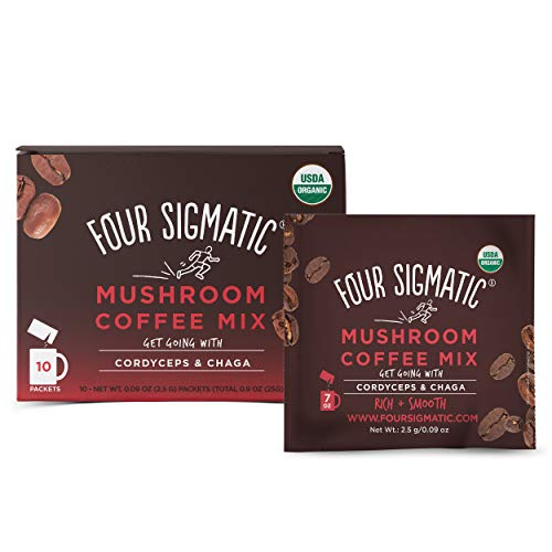 Four Sigmatic Mushroom Organic Instant Coffee Mix 3 Flavors
