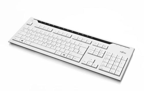 FUJITSU Tastatur Standard KB520 Marble Grey USB Le