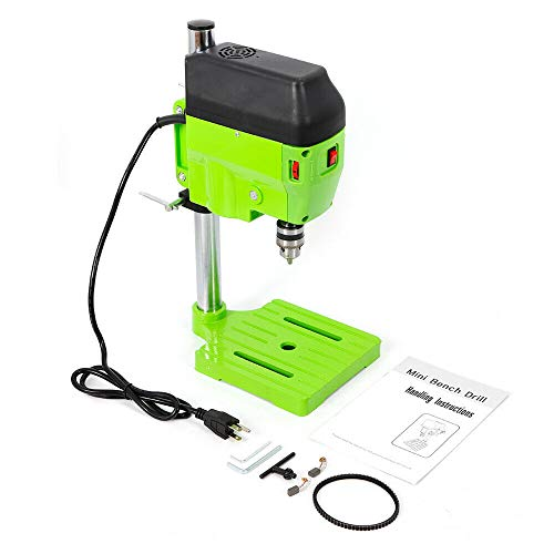 DENESTUS 480W Electric Drill Press Stand Powerful Table for Drill Workbench Repair Small Power Drilling Tool Mini Work Bench Kits 110V