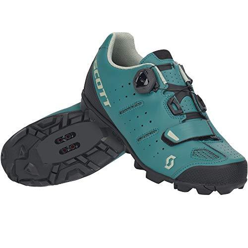 Scott MTB Elite Boa Damen Fahrrad Schuhe Smoked grün 2021: Größe: 39