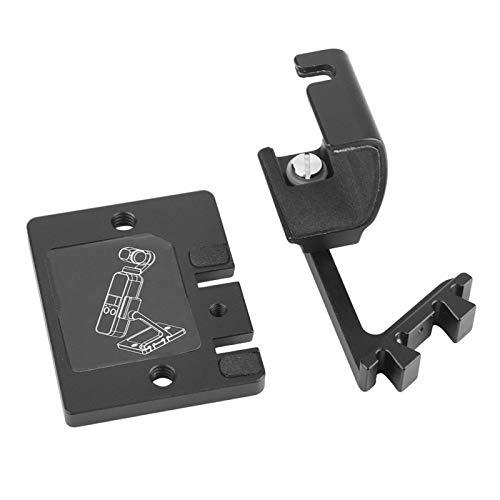 Akozon Soporte de Escritorio Ajustable portátil Soporte de Montaje Soporte para cámara de Bolsillo