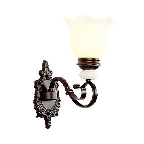 SACYSAC wandlamp, Amerikaanse wandlamp, scheepslamp, tuin, ijzer, LED-lamp, Singola Testa