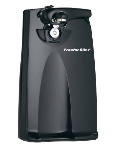 Proctor Silex Power Electric Automatic Can Opener with Knife Sharpener