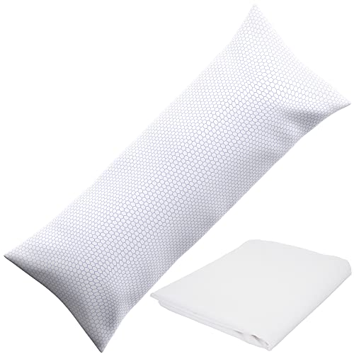"""XXL Shredded Memory Foam Body Pillow 