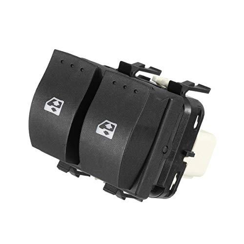 AWQC Interruptor de la Ventana Interruptor de Ventana eléctrica a la Derecha Delantero del Coche Compatible con Renault Espace Laguna Scenic 8200315042 reemplazo