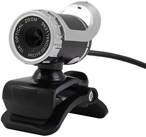 Ajuste de rotación de computadora HD tipo abrazadera de red cámara web con micrófono para ordenador PC portátil Tablet