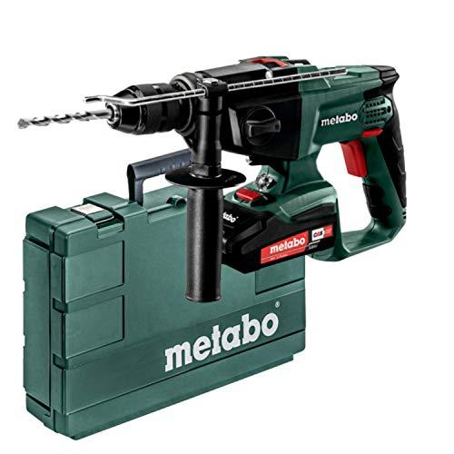 Metabo 600845510 SBE 18 LTX (600845510) Akku-Schlagbohrmaschine I für kraftvolles Bohren in Beton und Mauerwerk I mit Kunststoffkoffer