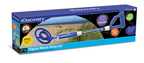 Discovery Channel - Detector de Metal D28 con Luces LED, de Juguete