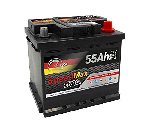 AUTOBATTERIE SPEED L1MAX - 55AH 520A 12V