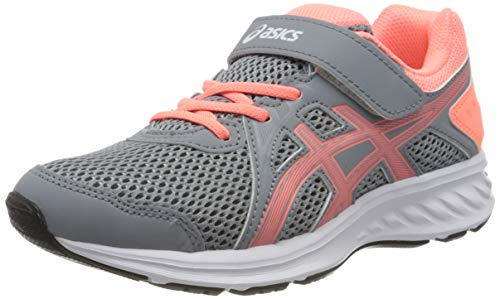 ASICS JOLT 2 PS, Zapatillas de Running, Multicolor Sheet Rock Sun Coral, 33 EU